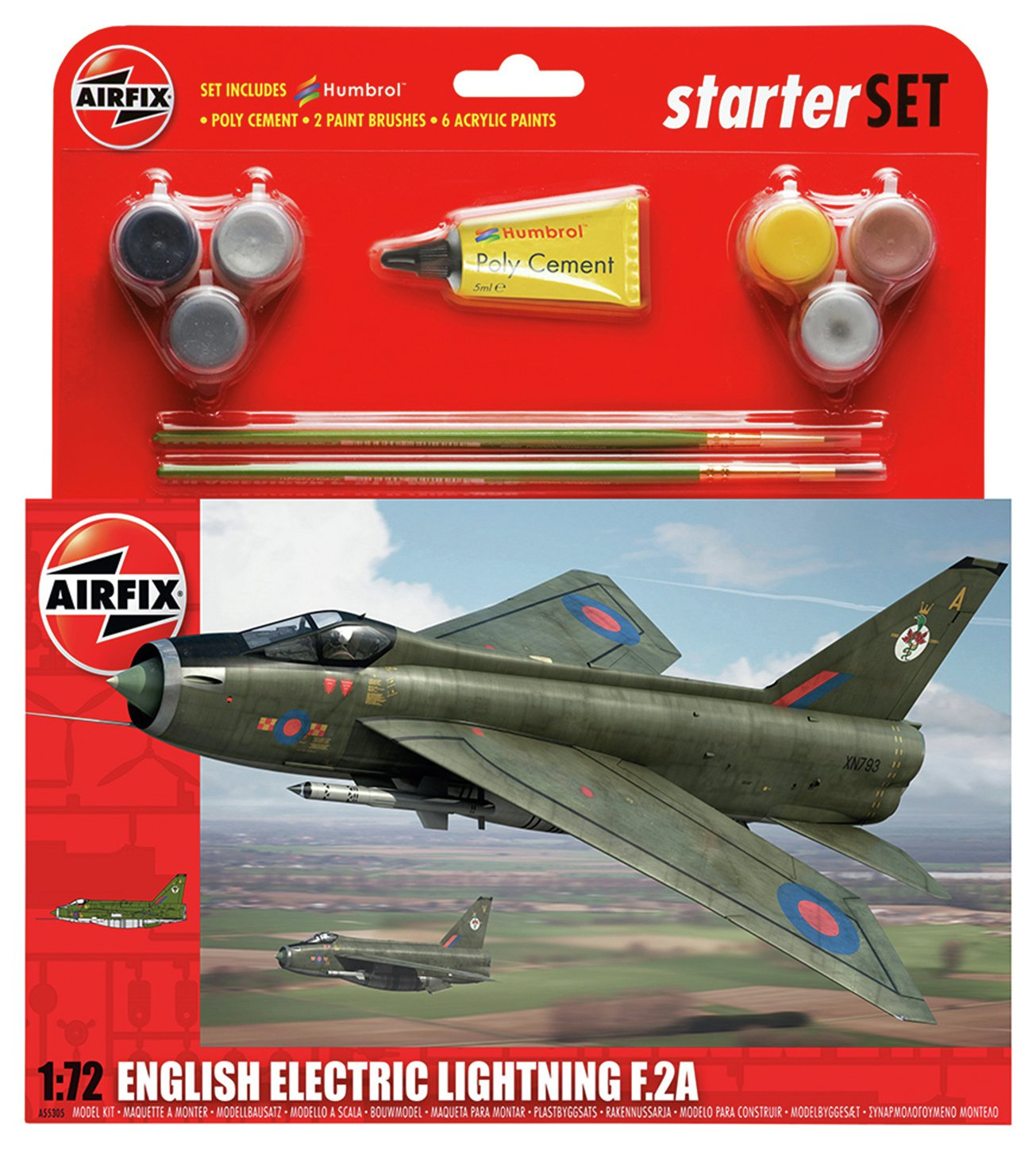Image of Airfix RAF English Electric Lightning Model Kit.