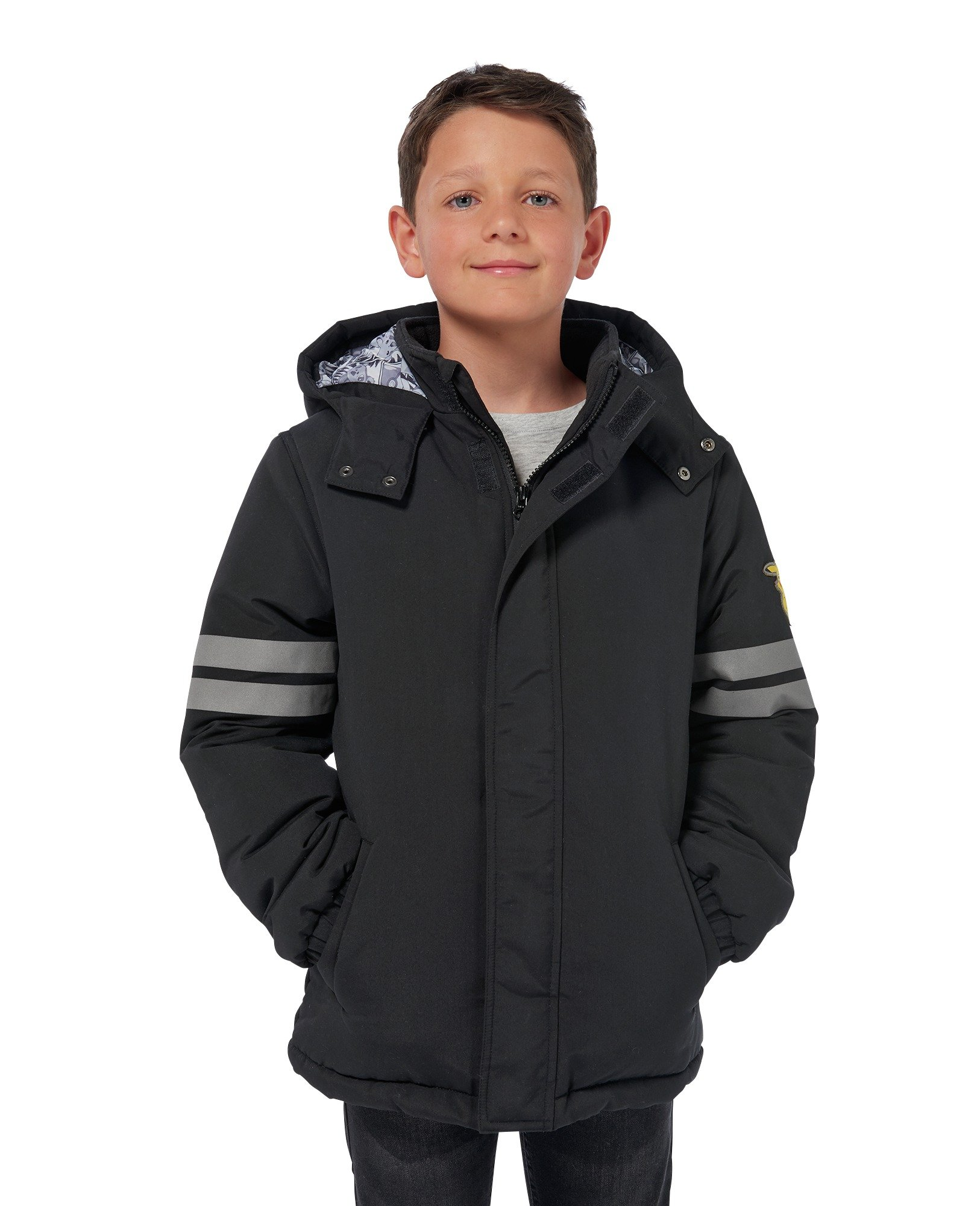 Image of Pokemon Black Jacket - 7-8 years