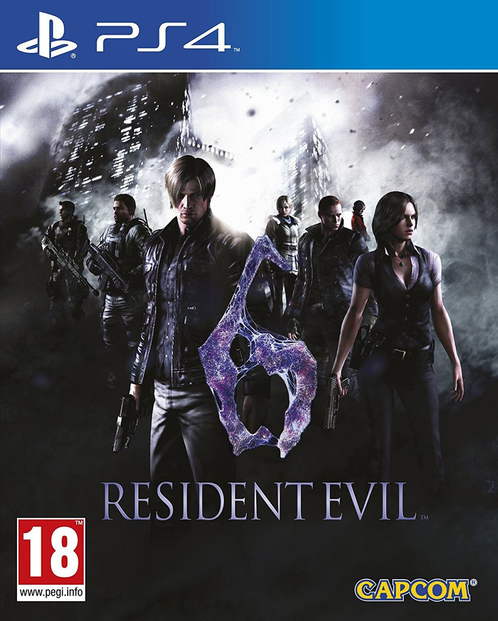 Image of Resident Evil 6 - PS4 Game