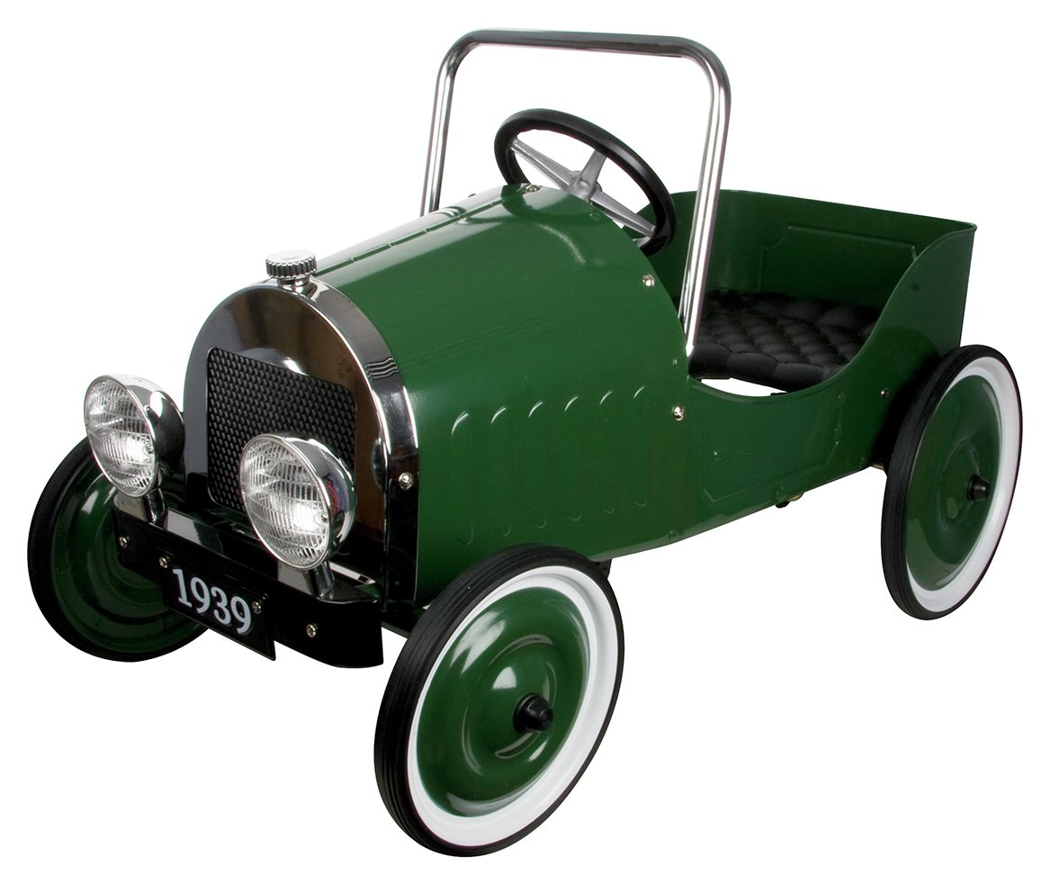 Image of Great Gizmos Classic Pedal Car - Green.