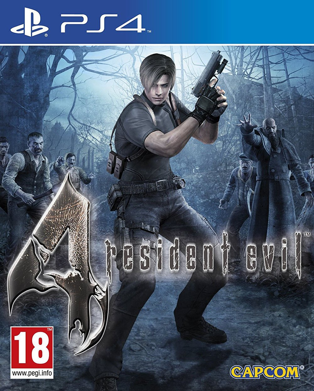 Image of Resident Evil 4 - PS4 Game
