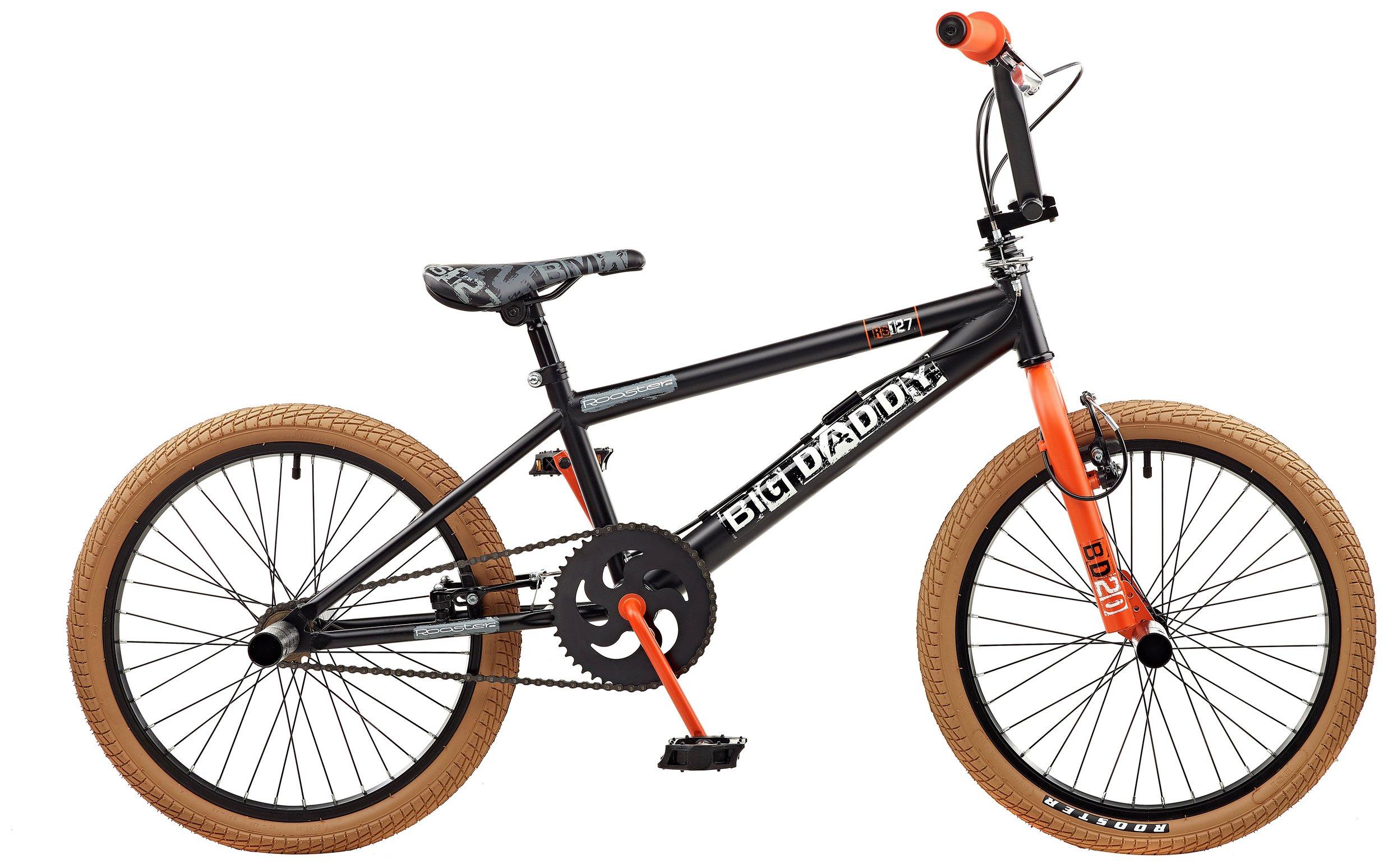 'Rooster Big Daddy 20 Bmx Bike - Black & Orange