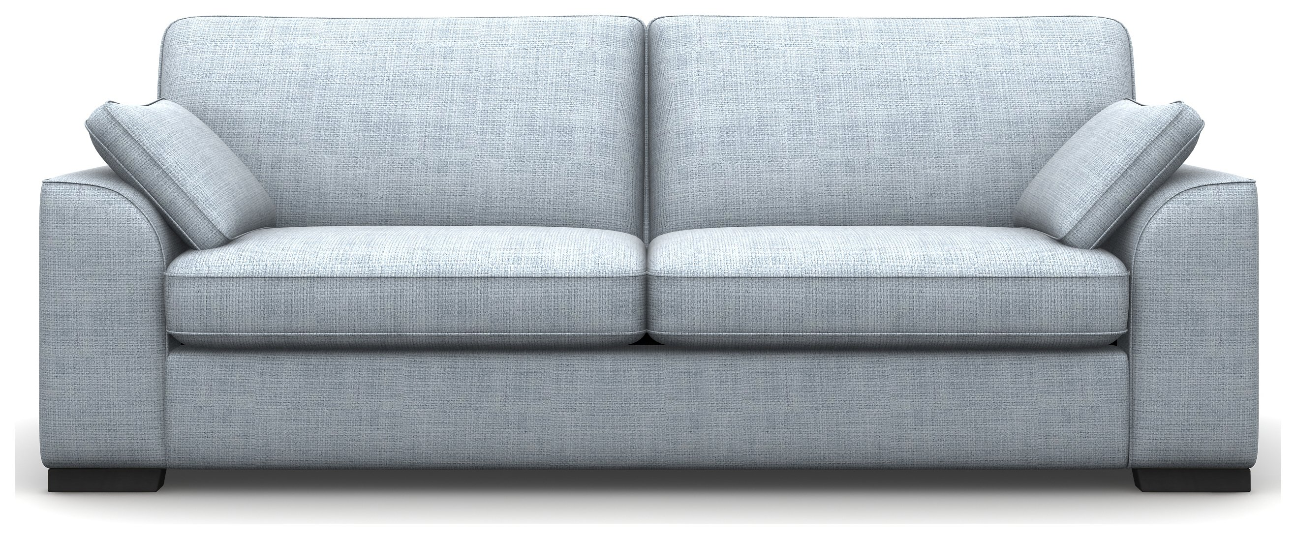 Heart of House Lincoln 4 Seater Fabric Sofa - Sky Blue