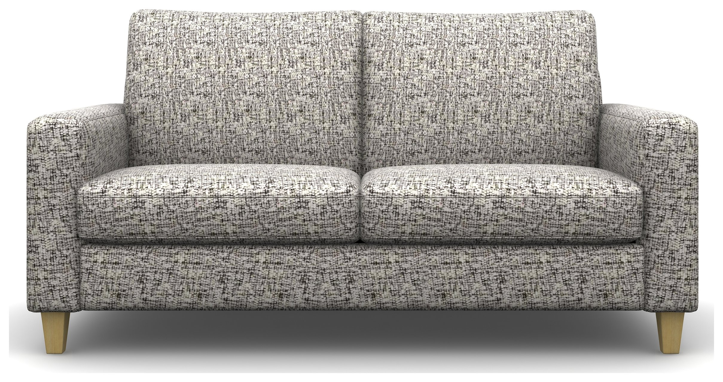 Heart of House Harrison 3 Seater Fabric Sofa - Silver.