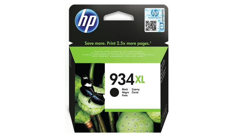 HP 934 XL High Yield Original Ink Cartridge - Black
