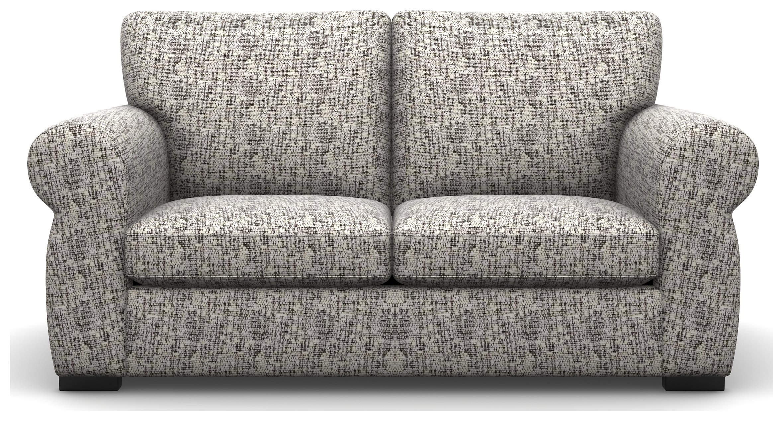 Heart of House Chloe 2 Seater Fabric Sofa - Silver