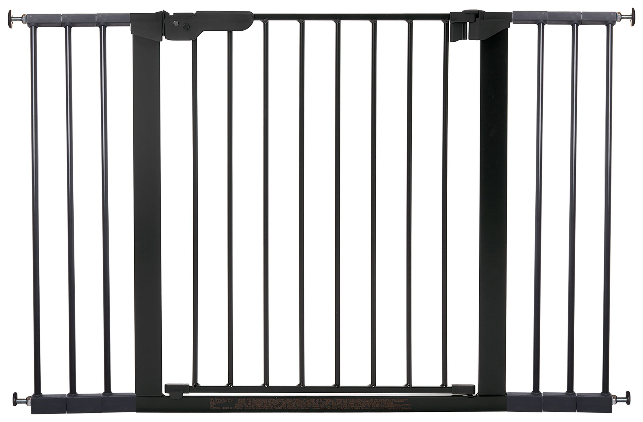 BabyDan Premier Extra Wide Safety Gate - Black