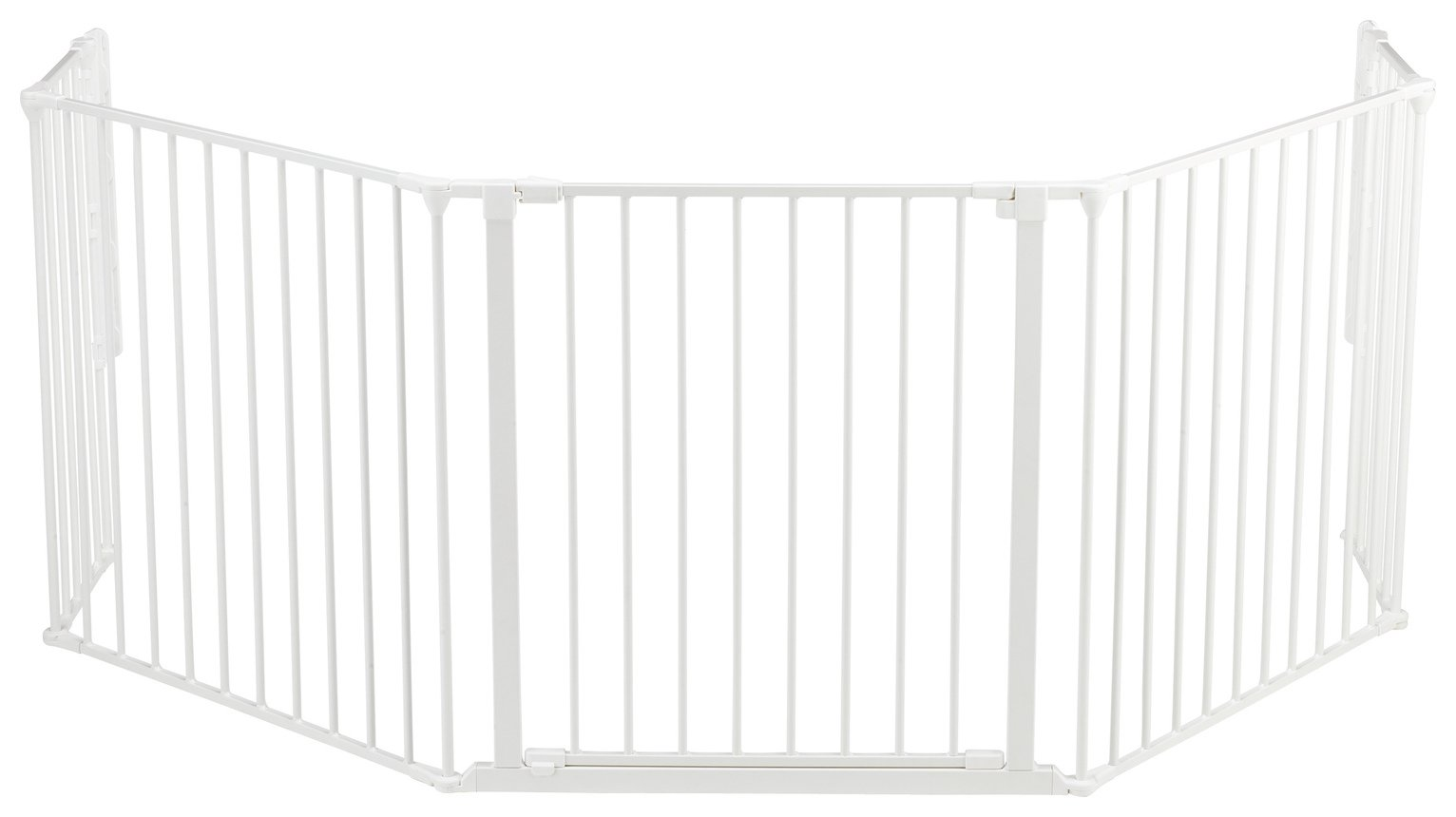 BabyDan XL Heart Gate / Configure Gate - White.