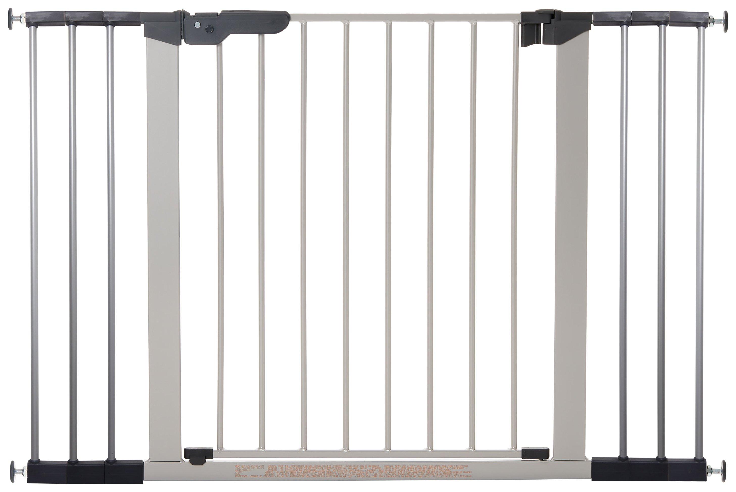 BabyDan Premier Extra Wide Safety Gate - Silver