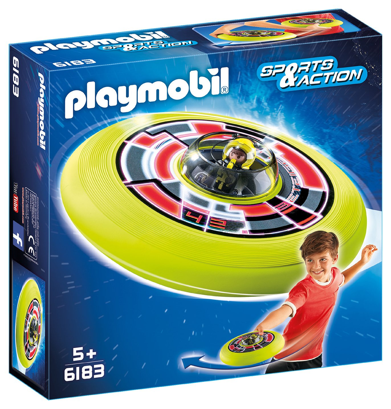 Playmobil 6183 Cosmic Flying Disk with Astronaut