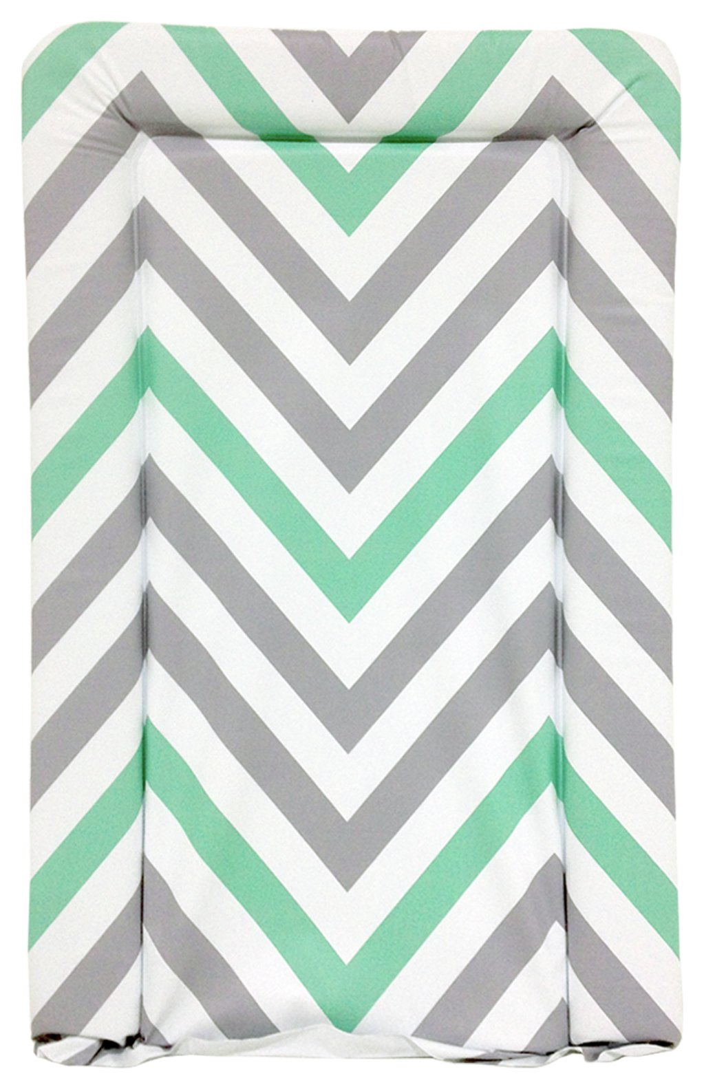 Image of My Babiie - Mint Green Chevron - Changing Mat