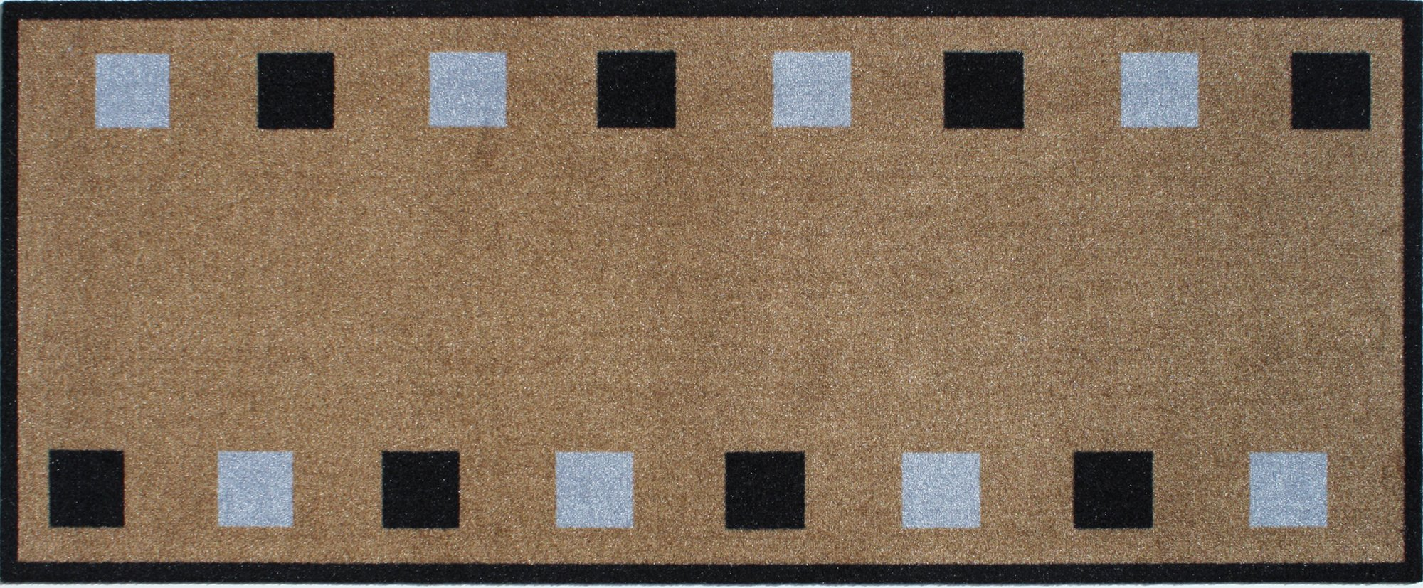 Image of Dandy Squares Kitchen Runner - 120x50cm.
