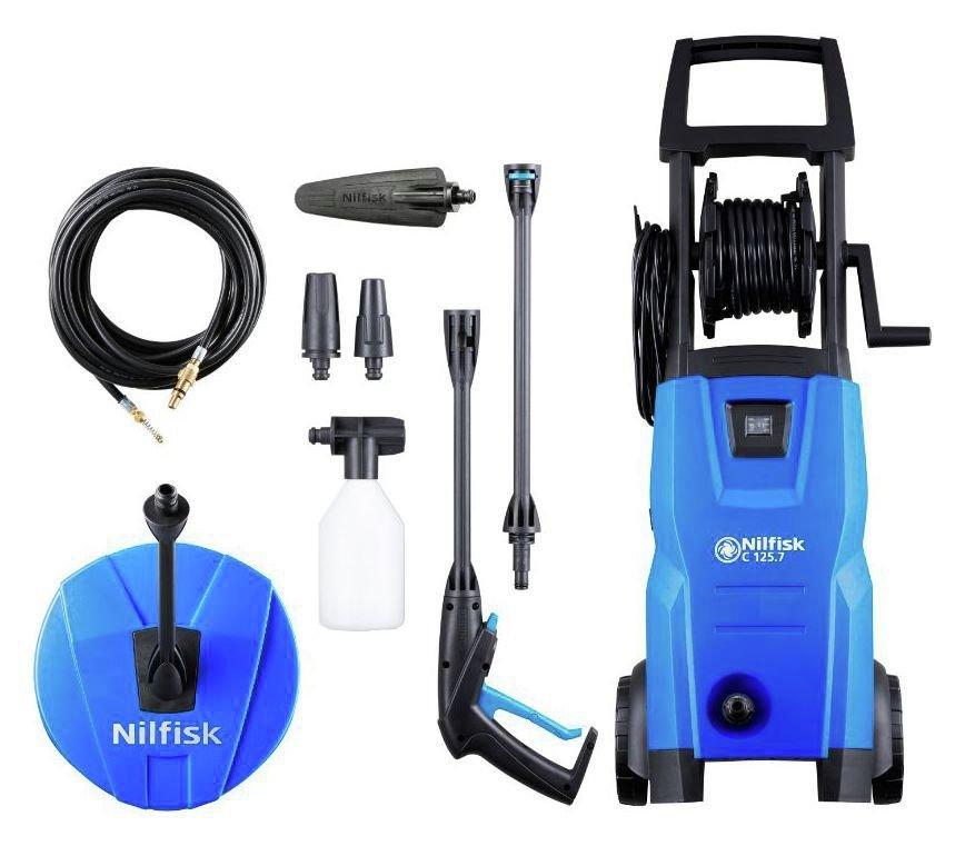 Nilfisk Compact 125 High Pressure Washer - 1500W