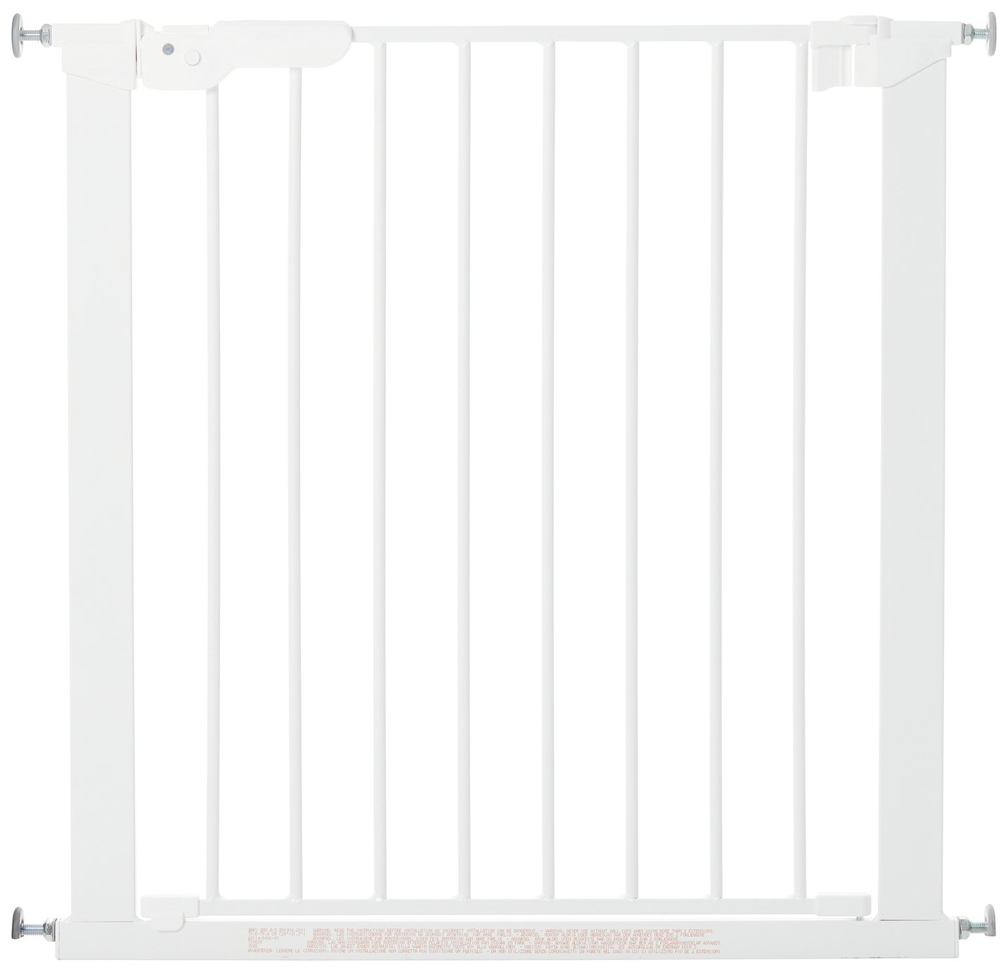 BabyDan Premier Pressure Fit Safety Gate - White
