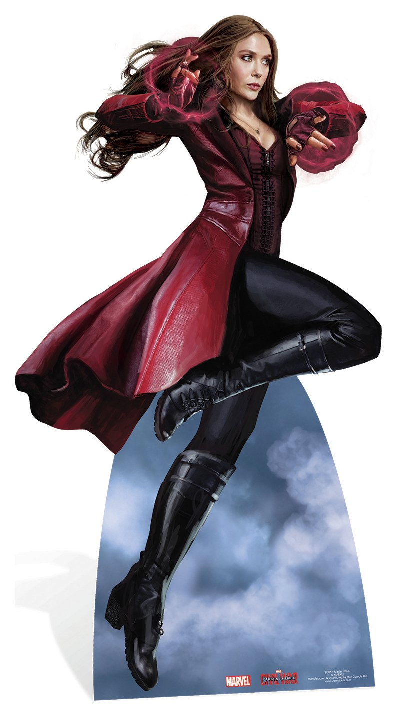 Star Cutouts Marvel's Scarlet Witch Cardboard Cutout