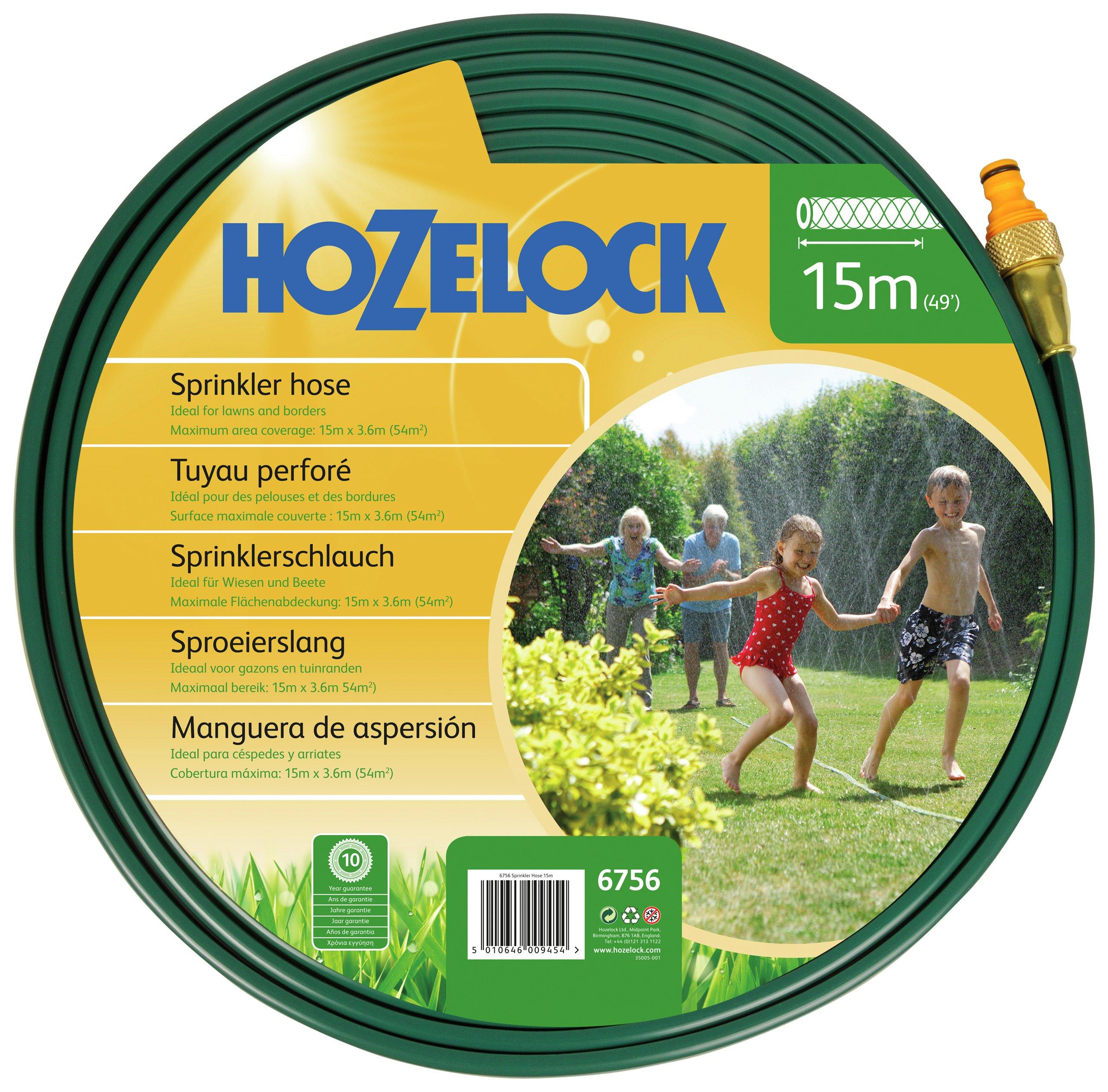 Image of Hozelock 15m Sprinkler Hose.