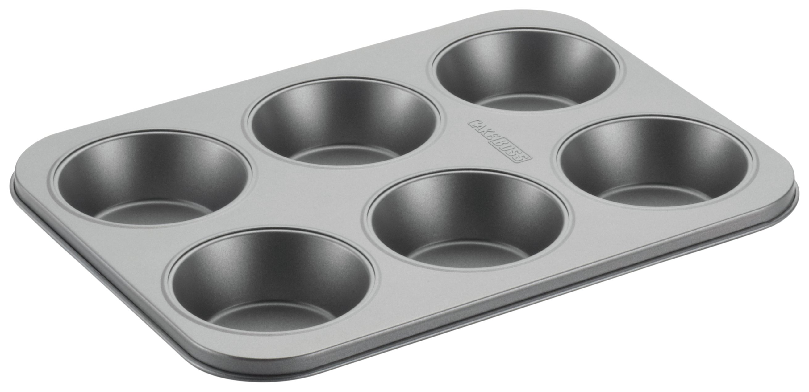 Image of Cake Boss Non-Stick 6 Cup Mini Pie Baking Tin.