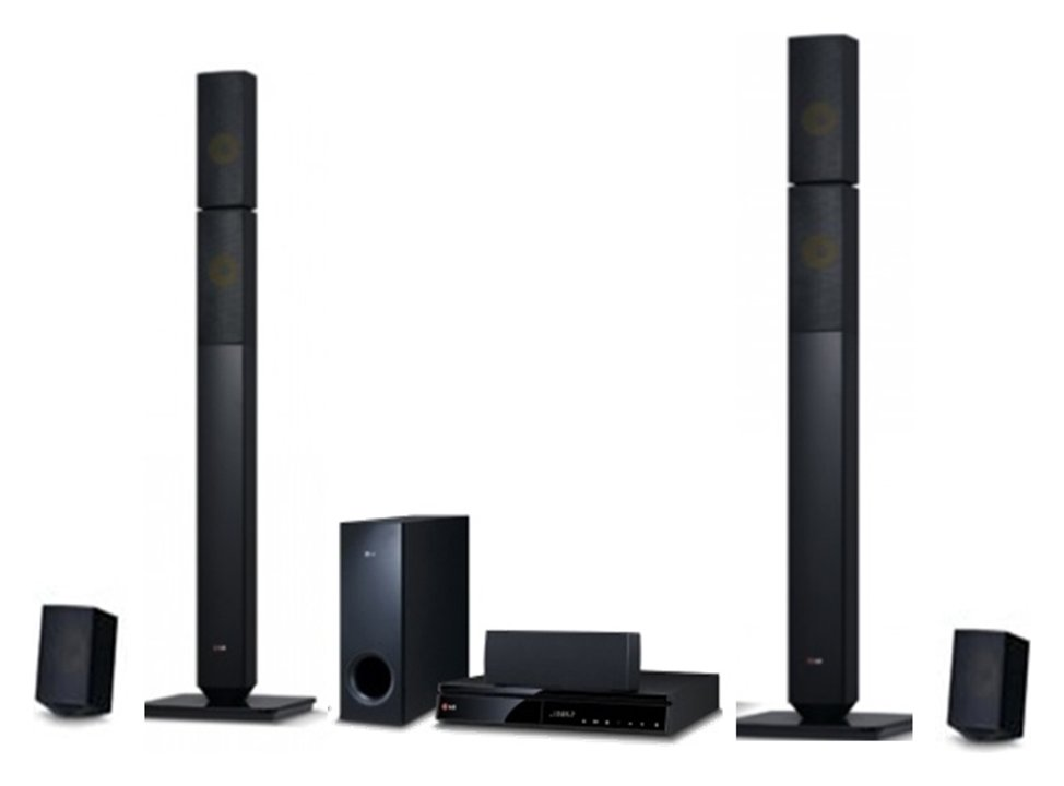 Image of LG LHB645N 1000W 5.1Ch Blu- ray Home Cinema System