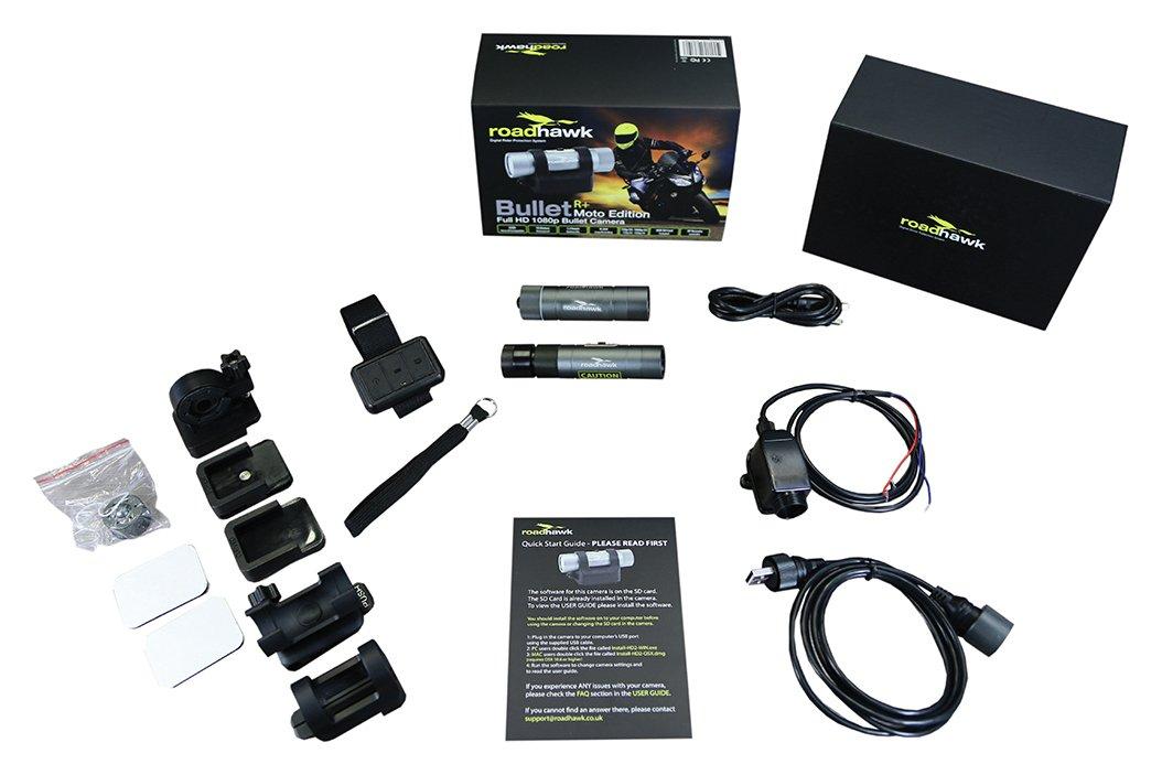RoadHawk Ride R Plus Bullet Moto Camera