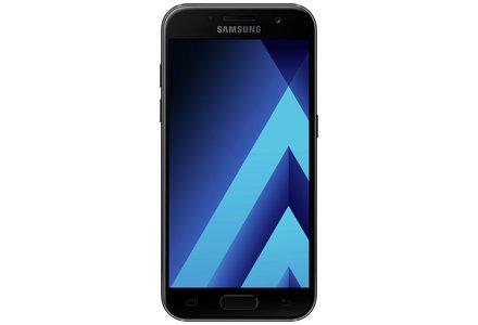 Sim Free Samsung A5 2017 Mobile Phone - Black.