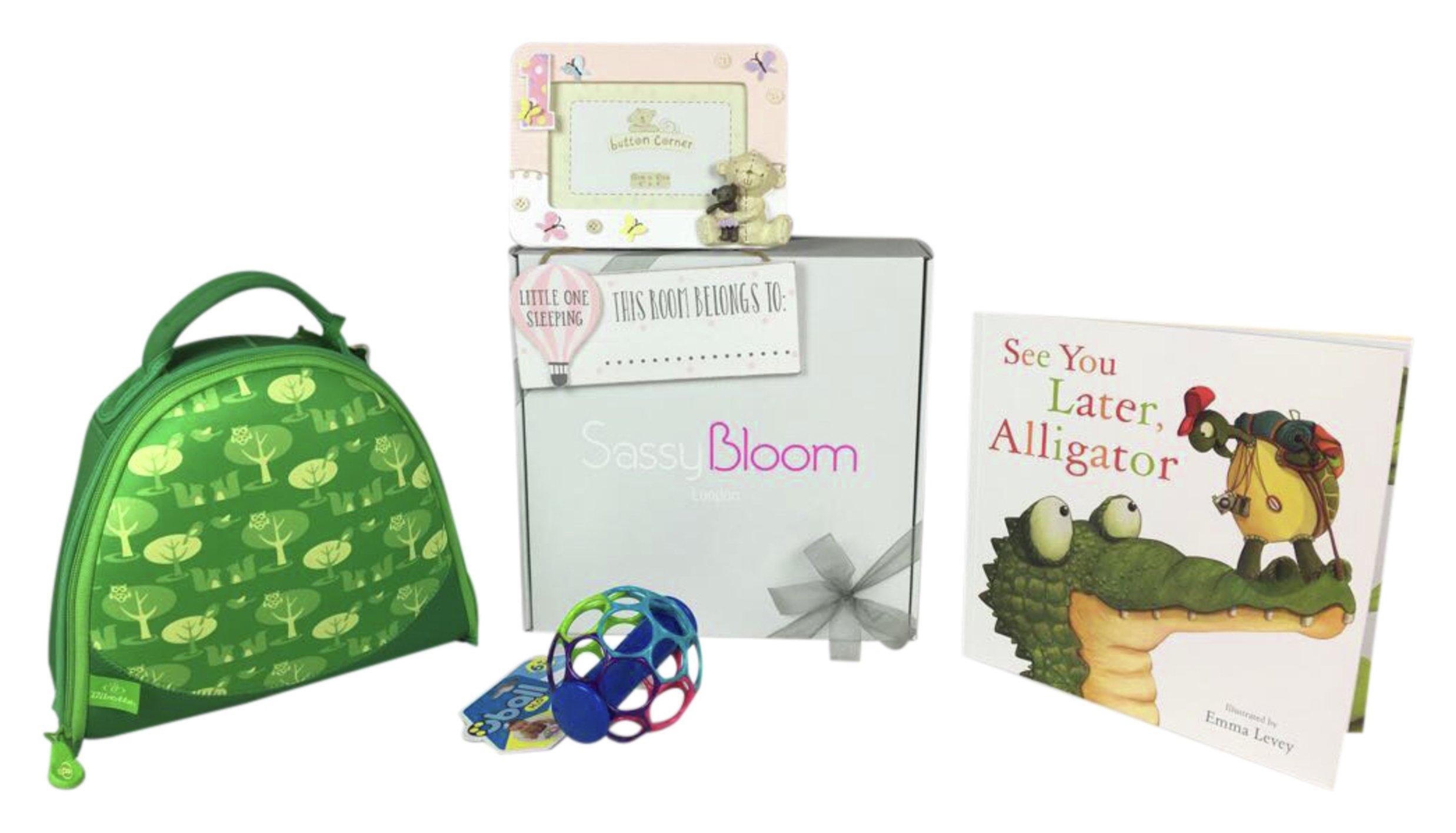 Image of 1st Birthday - Special Edition Girls Sassy Bloom - Box