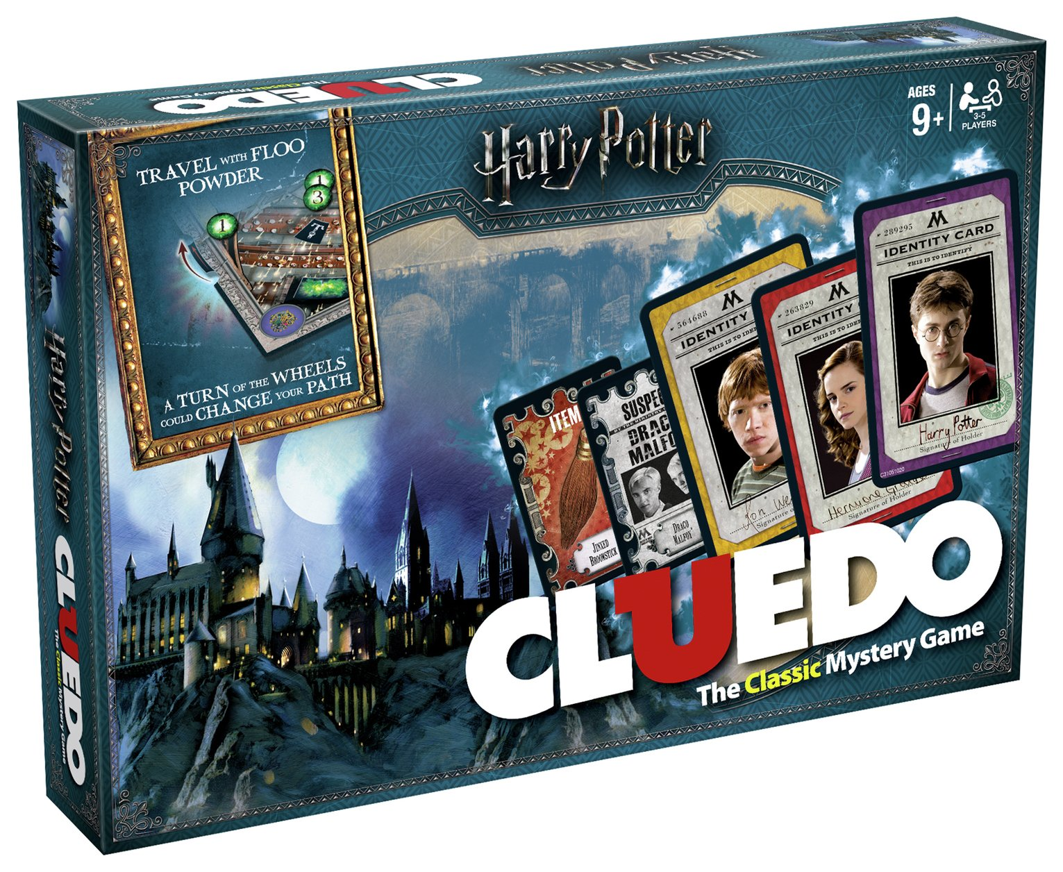 Harry Potter Cluedo Mystery Board Game.