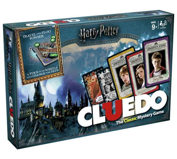 Buy Harry Potter Cluedo Mystery Board Game Board Games Argos