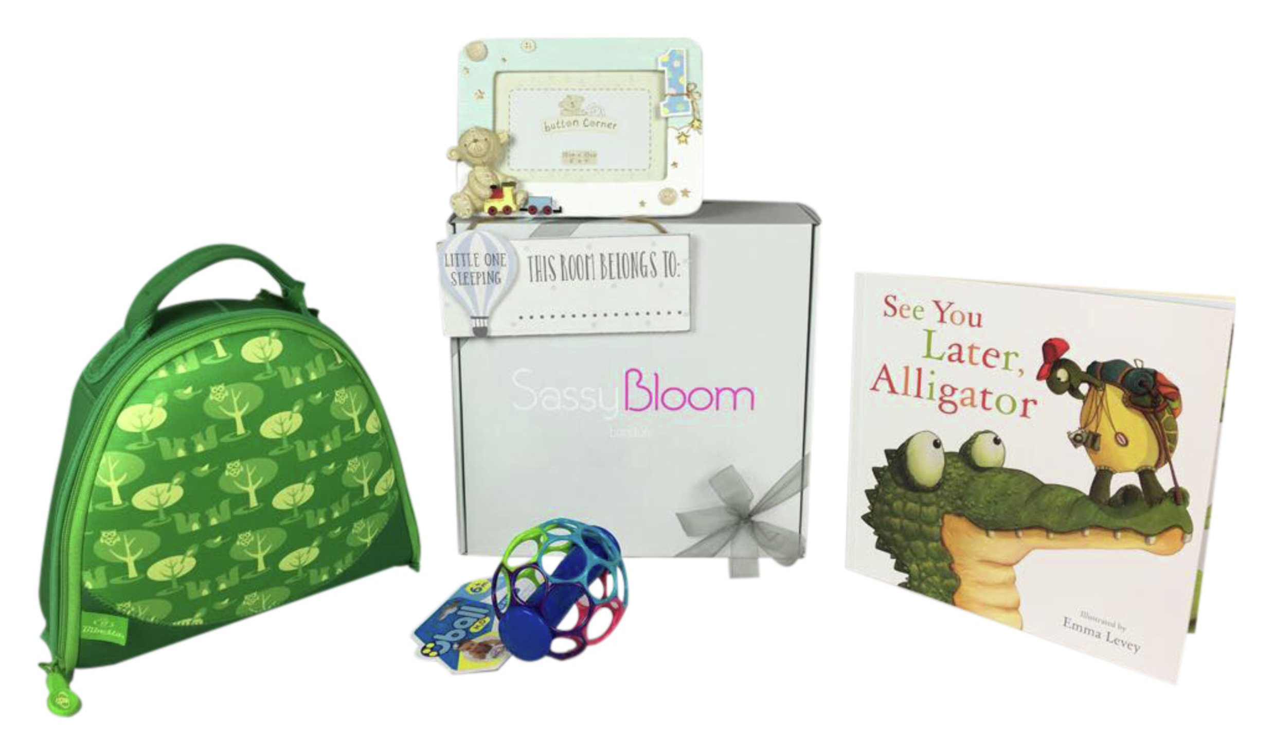 Image of 1st Birthday - Special Edition Boys Sassy Bloom - Box