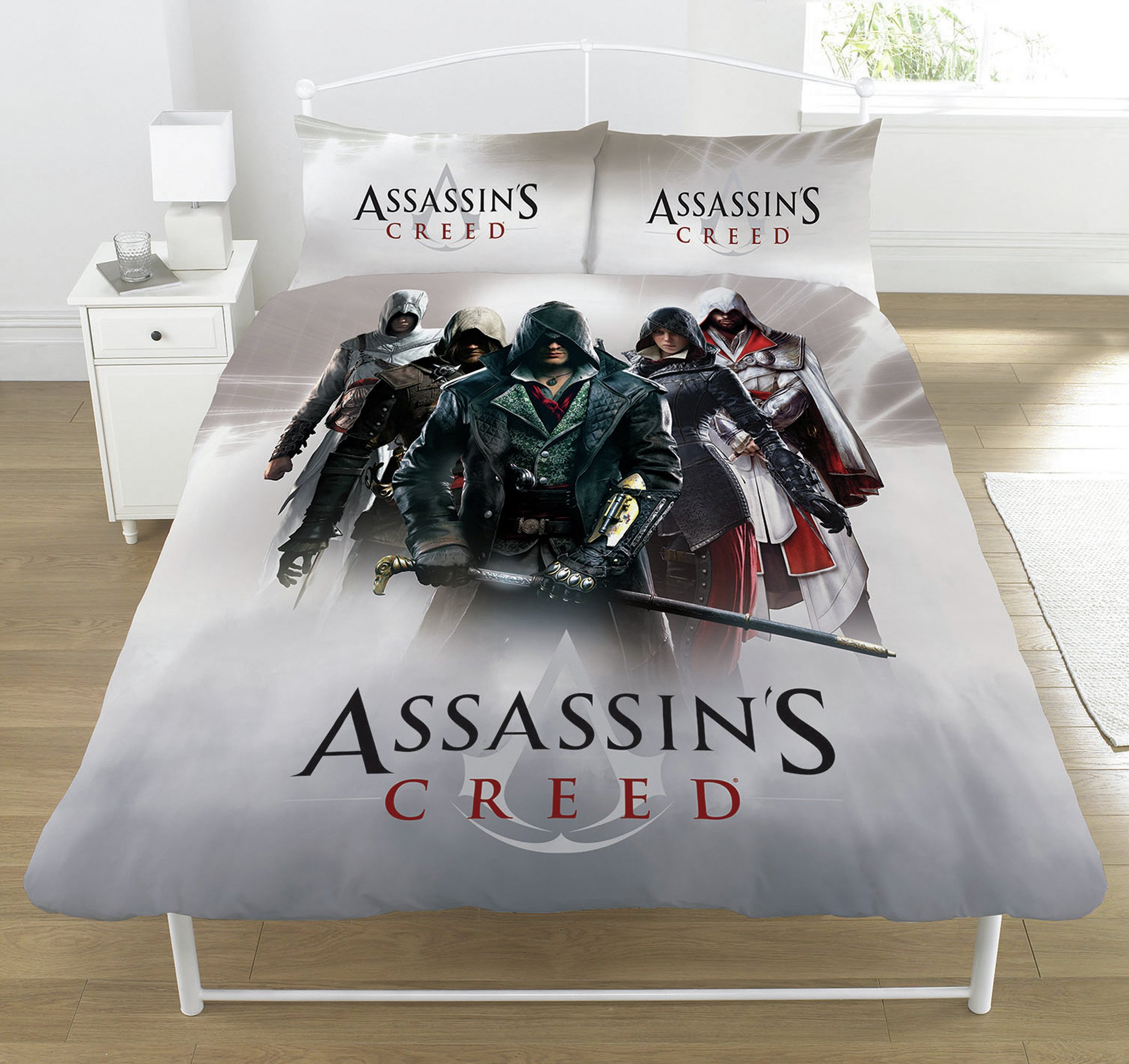 Image of Assassin's Creed Heroes Montage Bedding Set - Double.