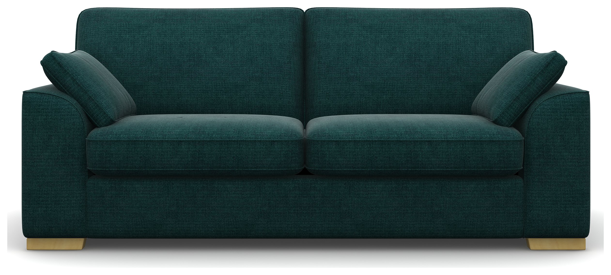 Heart of House Lincoln 3 Seater Fabric Sofa - Ocean Blue