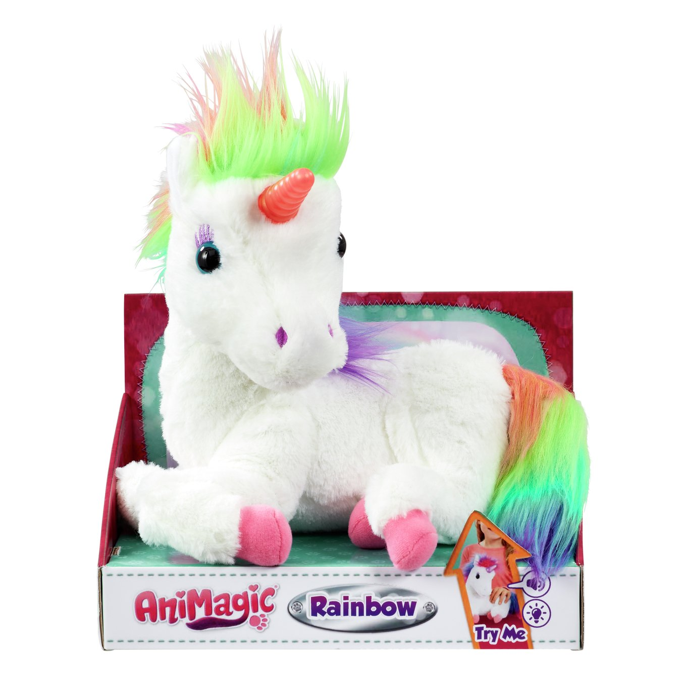 Image of AniMagic Rainbow My Glowing Unicorn