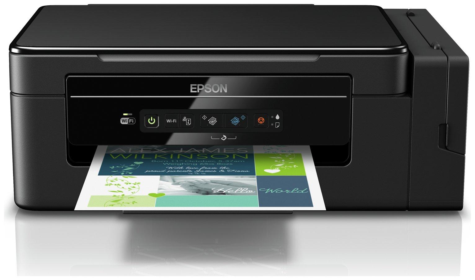 Epson EcoTank ET-2600 Wireless Ink Tank Printer