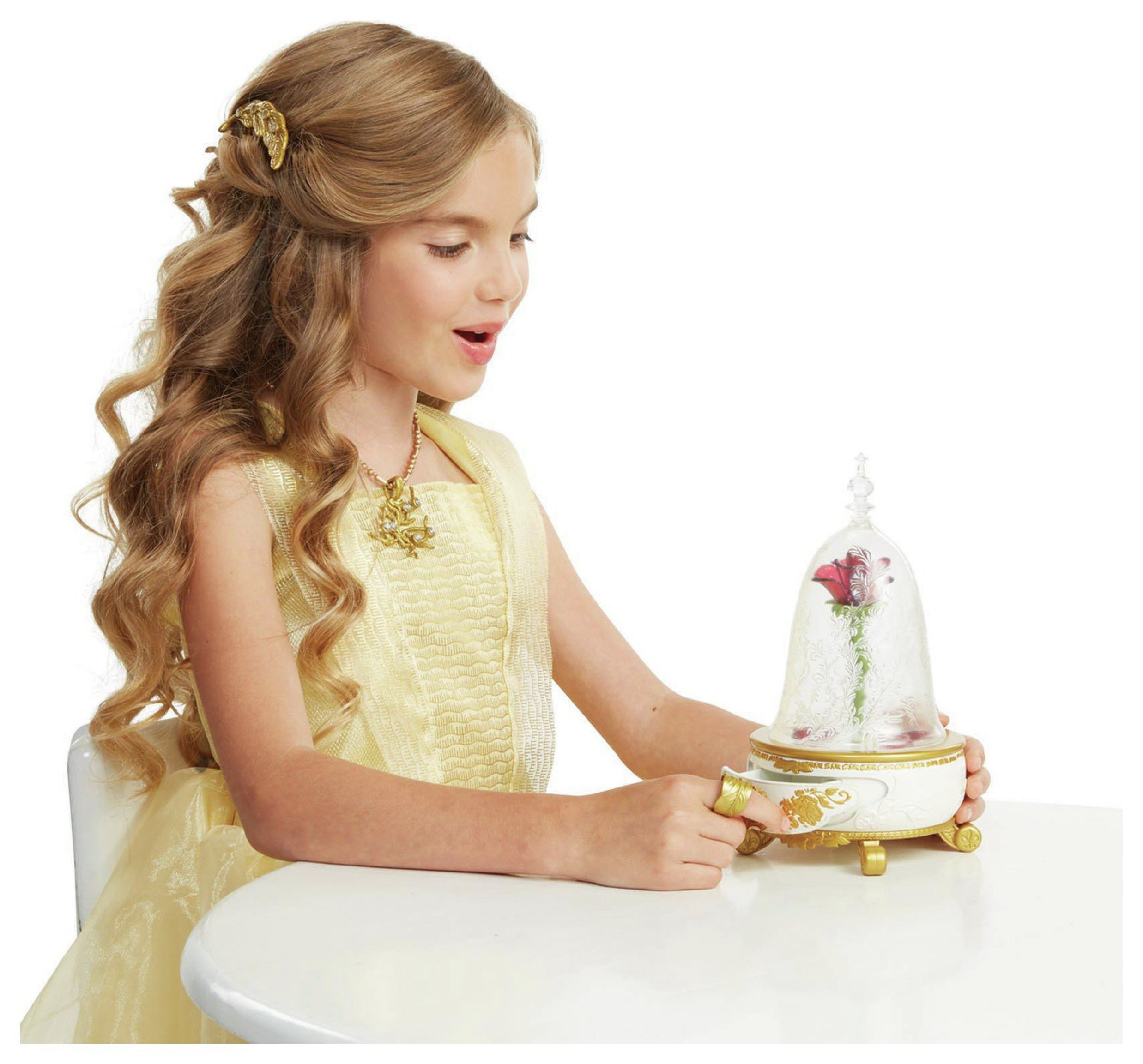 Buy Beauty and the Beast Enchanted Rose Jewellery Box at Argos.co ...