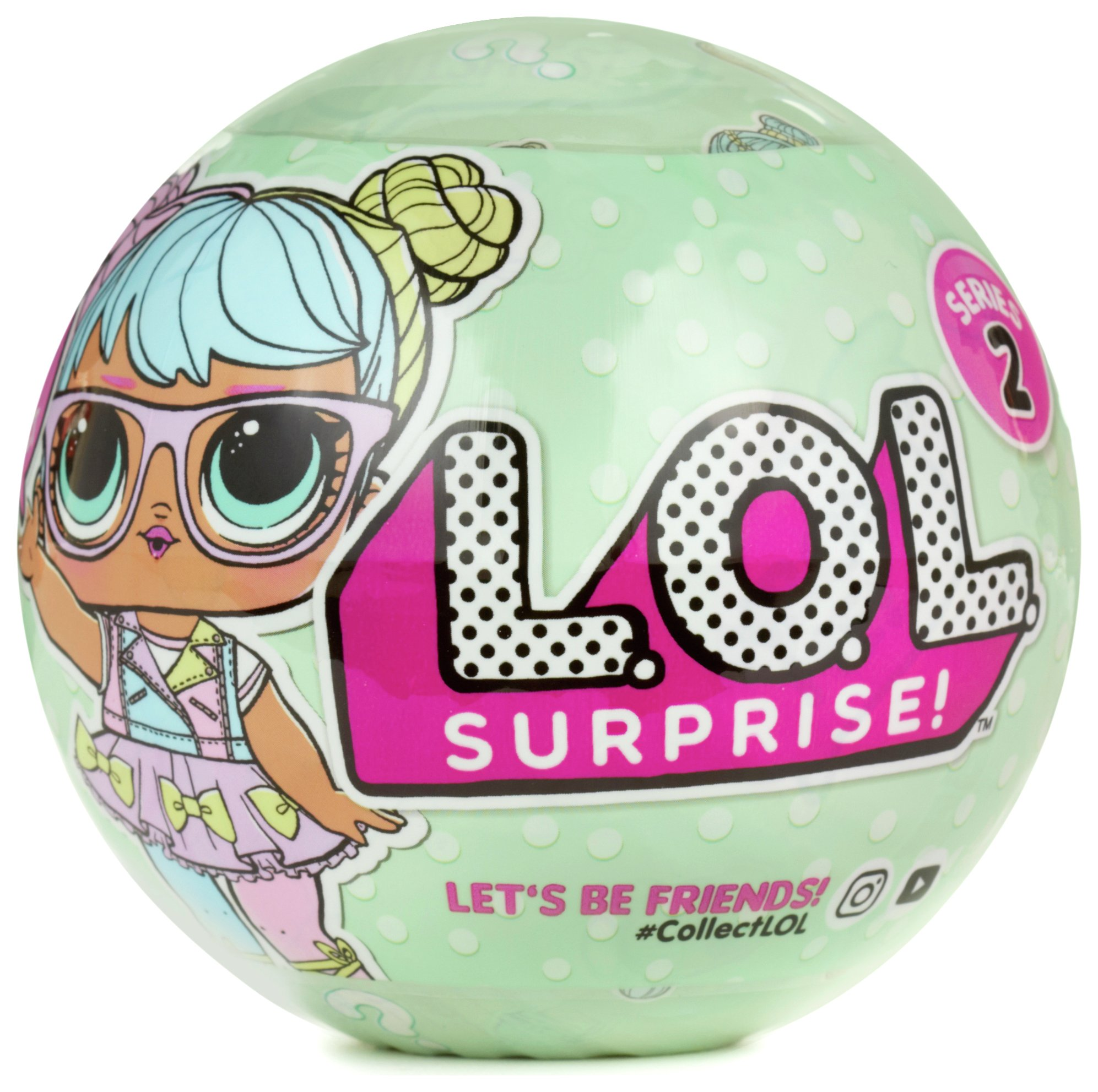 Buy Lol Surprise Tots Ball Series 2 Dolls Argos