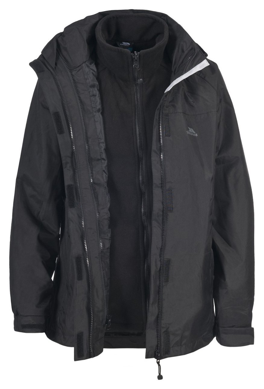 Image of Trespass 3 in 1 Jacket - Extra Large