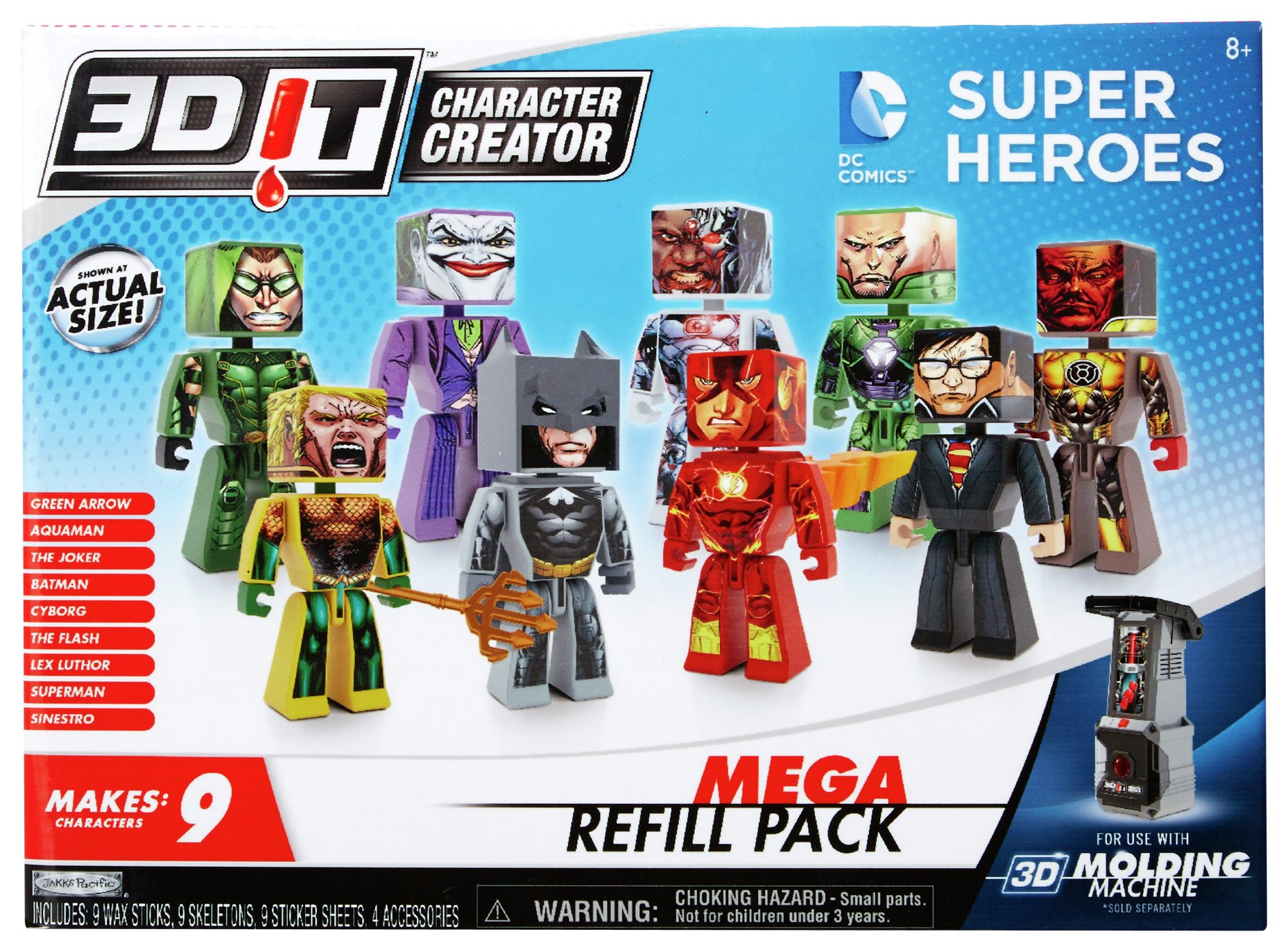 Image of 3DIT DC Comics Mega Refill Pack
