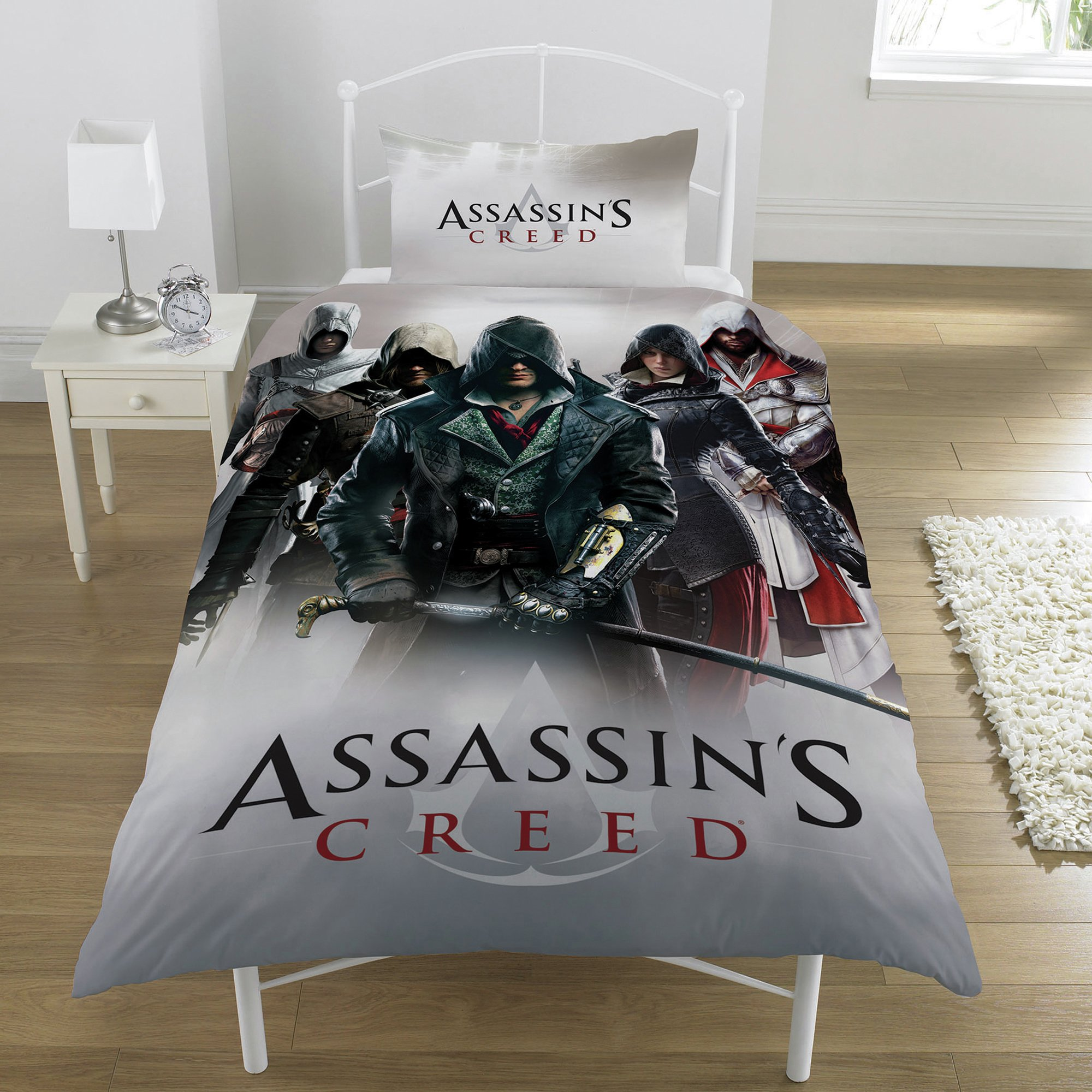 Image of Assassin's Creed Heroes Montage Bedding Set - Single.
