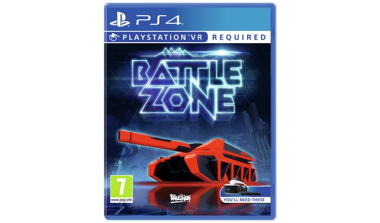 Battlezone PS4 VR Game.