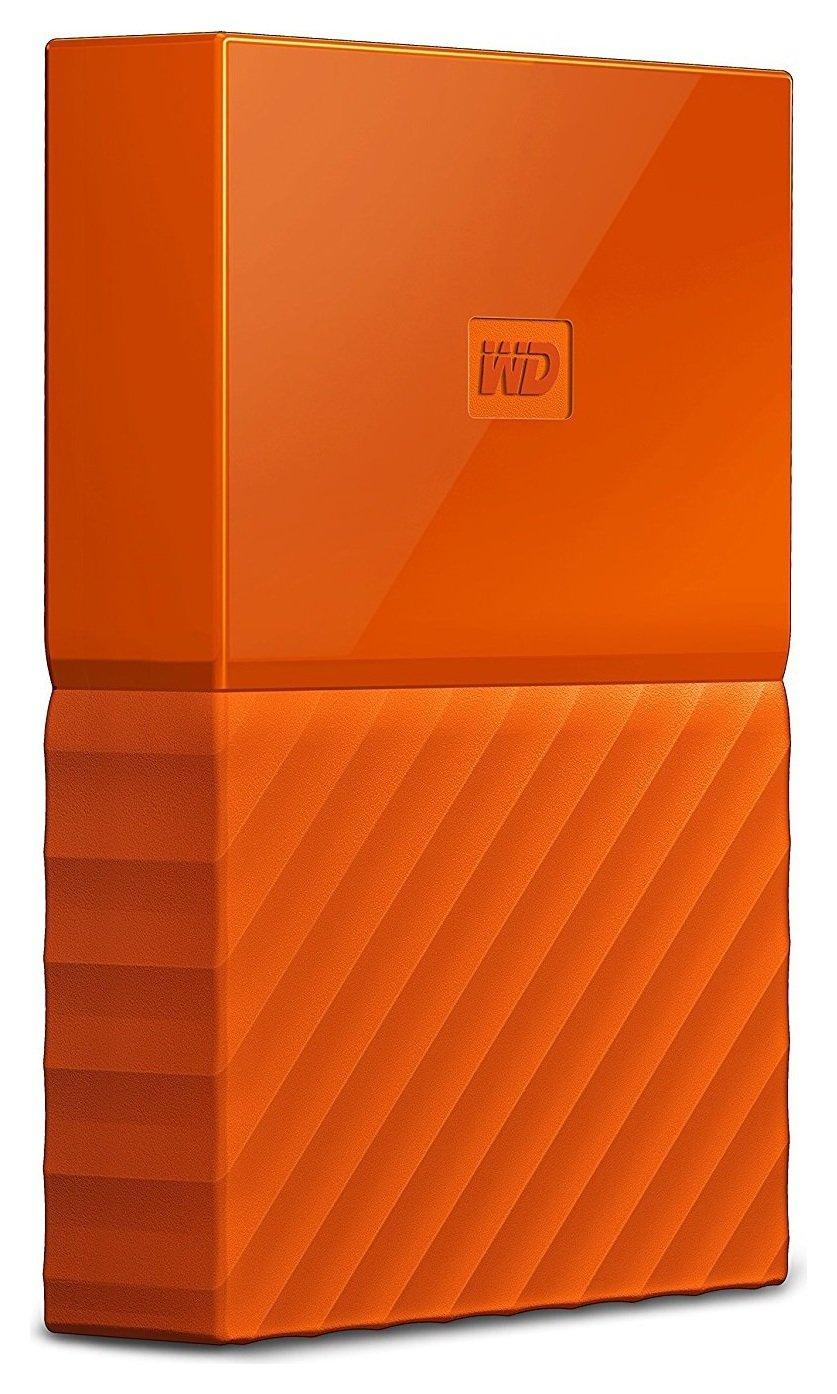 WD 1TB My Passport Orange