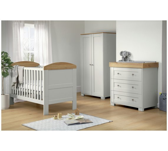 buy mamas papas harrow 3 piece furniture set grey nursery