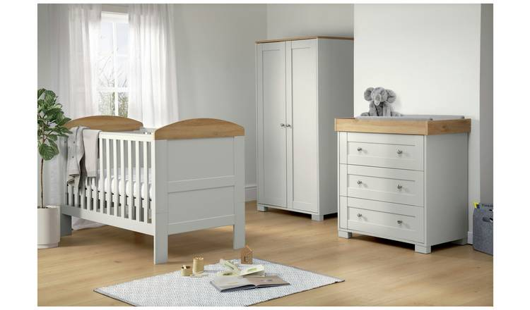 brand new 7b09b 034c7 Buy Mamas & Papas Harrow 3 Piece Furniture Set - Grey | Nursery furniture  sets | Argos
