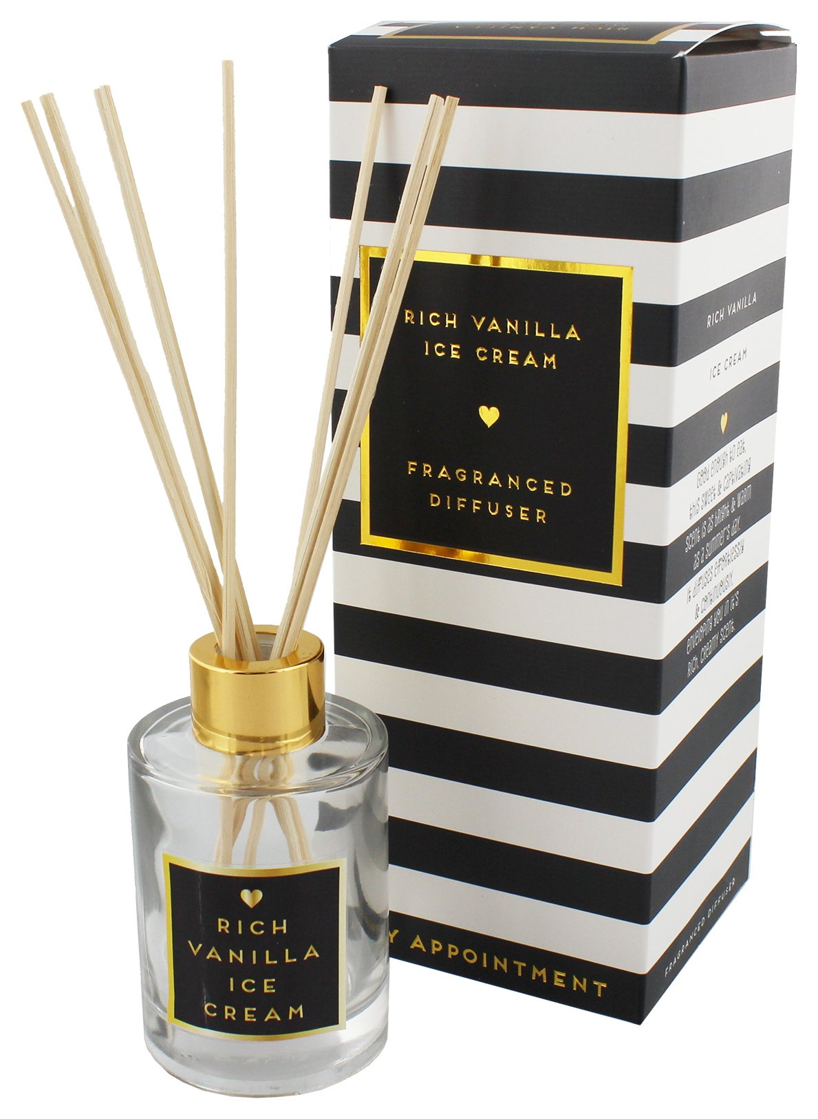 Image of By Appointment Rich Vanilla Ice Cream Reed Diffuser