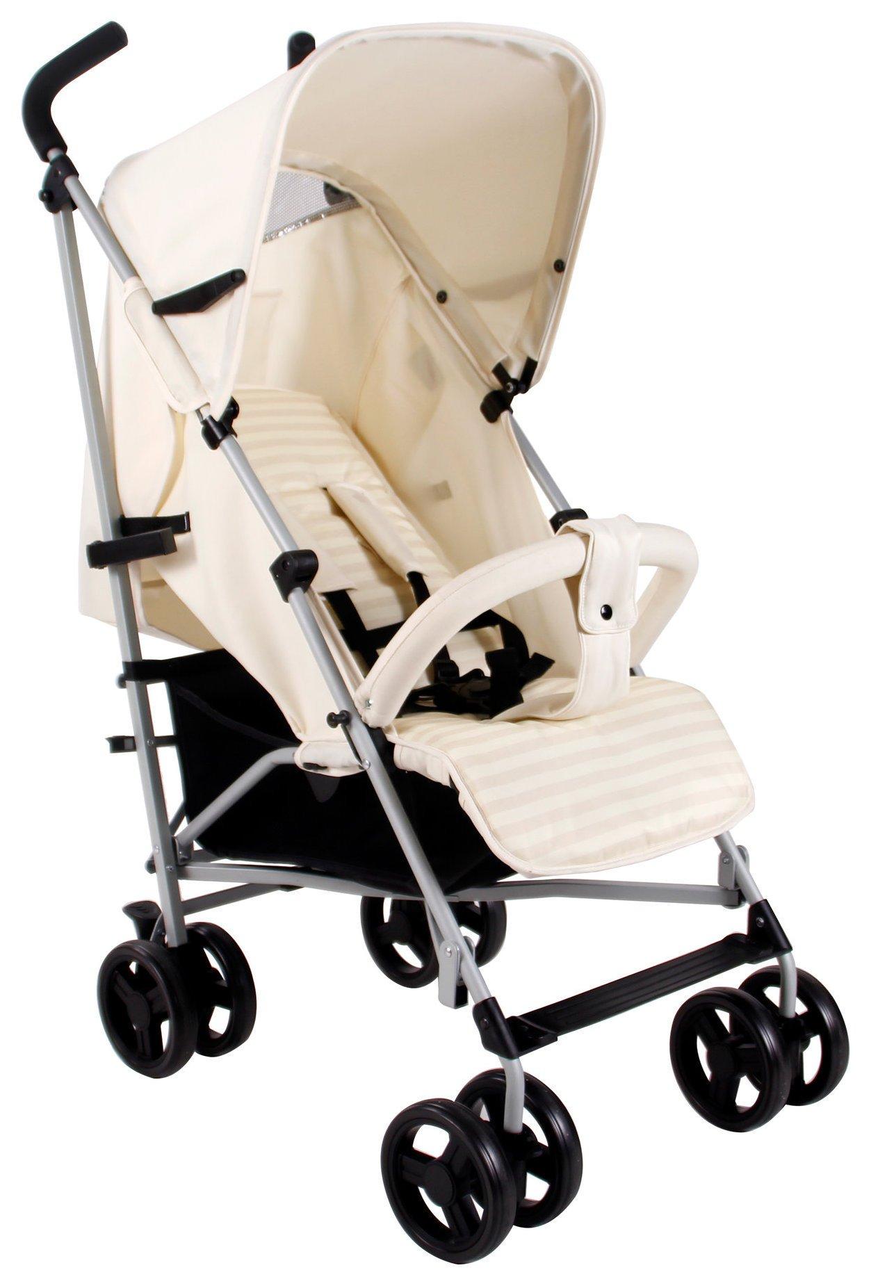 My Babiie MB01 Cream Stroller.