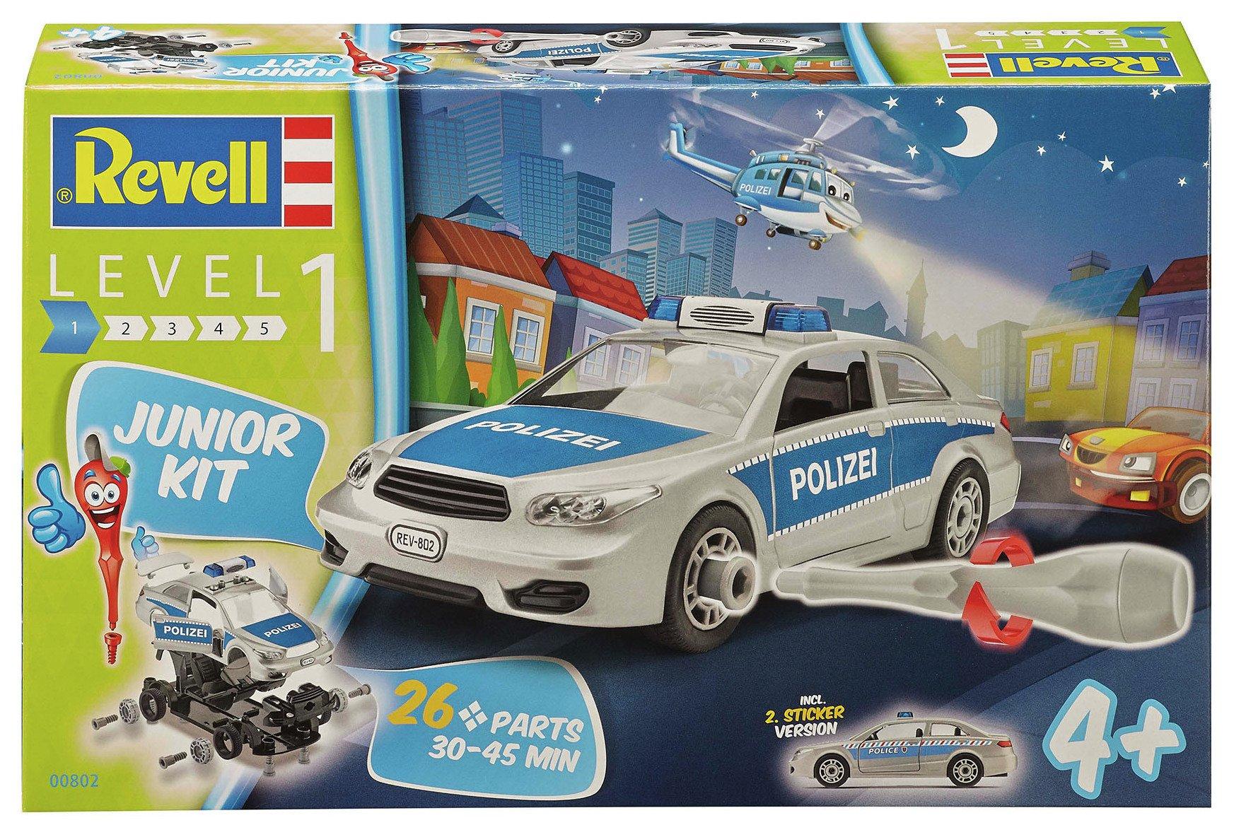 Revell Junior Kit Police Car.
