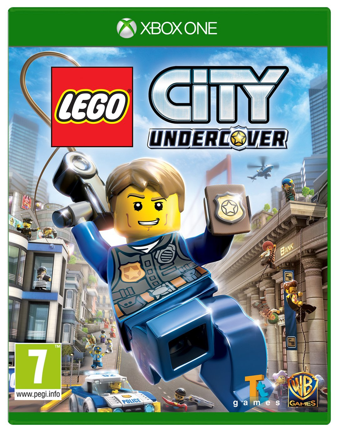 Lego Games For Xbox 1 : Lego city undercover xbox one game