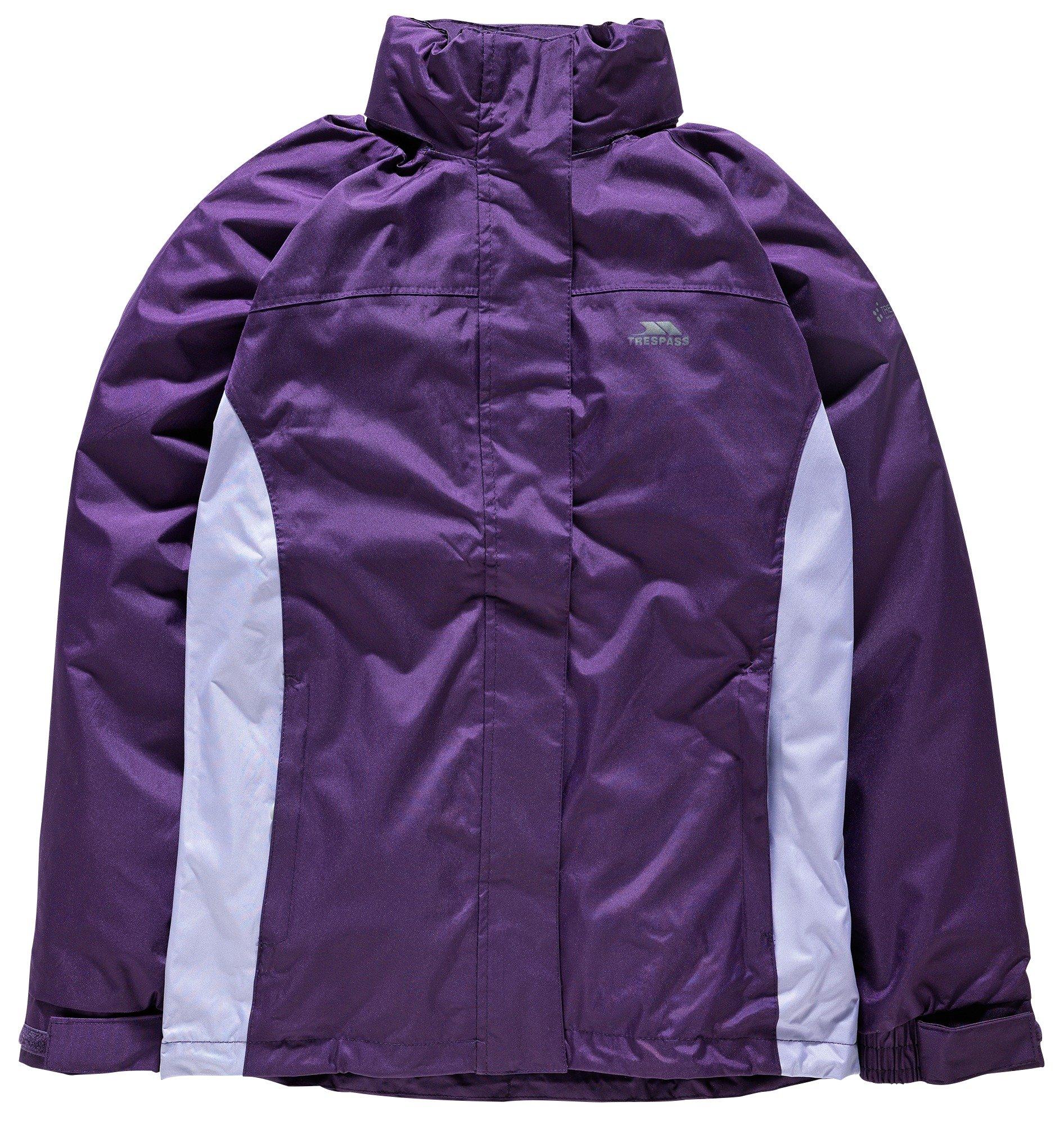Image of Trespass Ladies' Purple Tarron II Jacket - Large