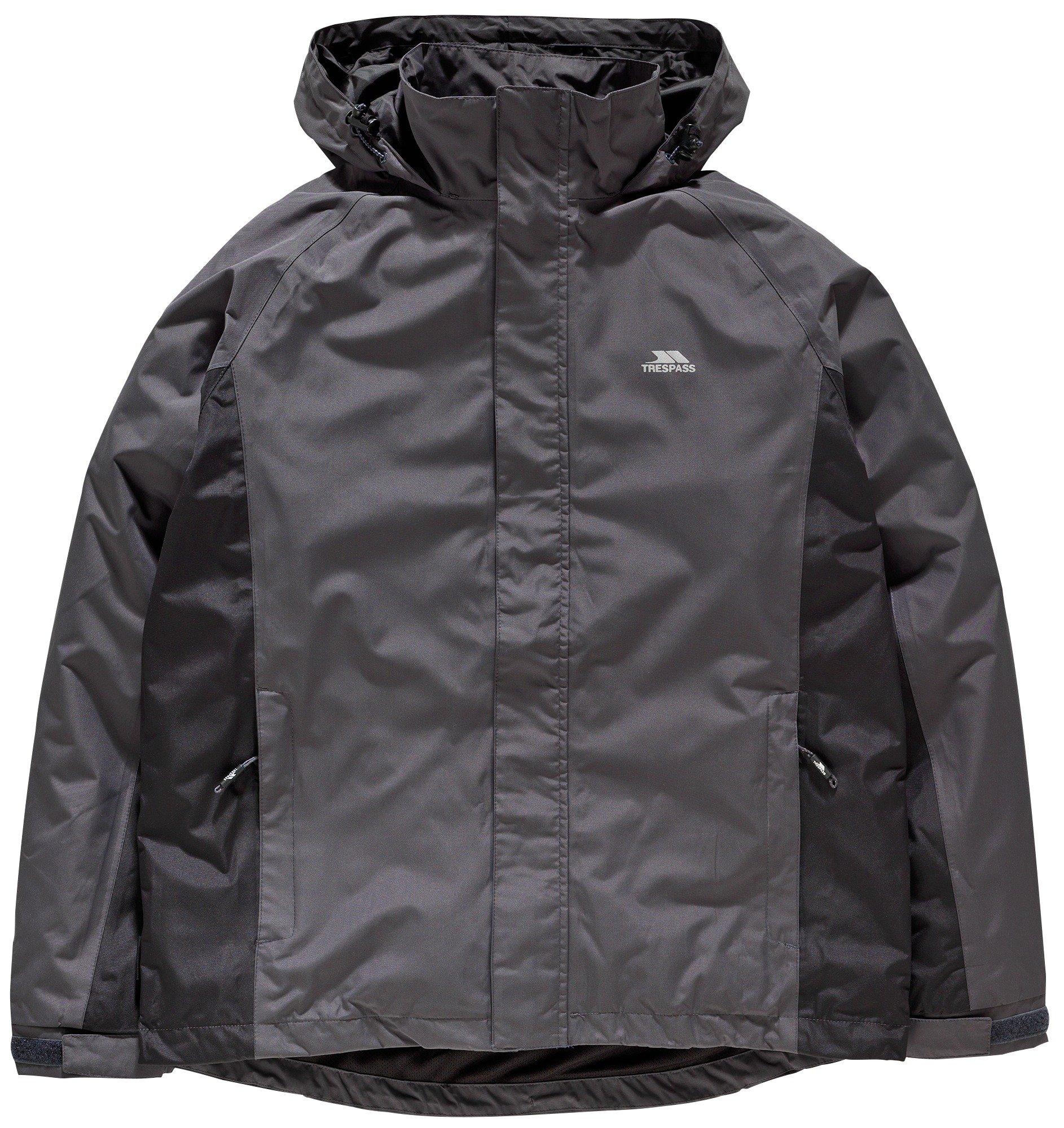 Image of Trespass Grey Rogan II Jacket - Large