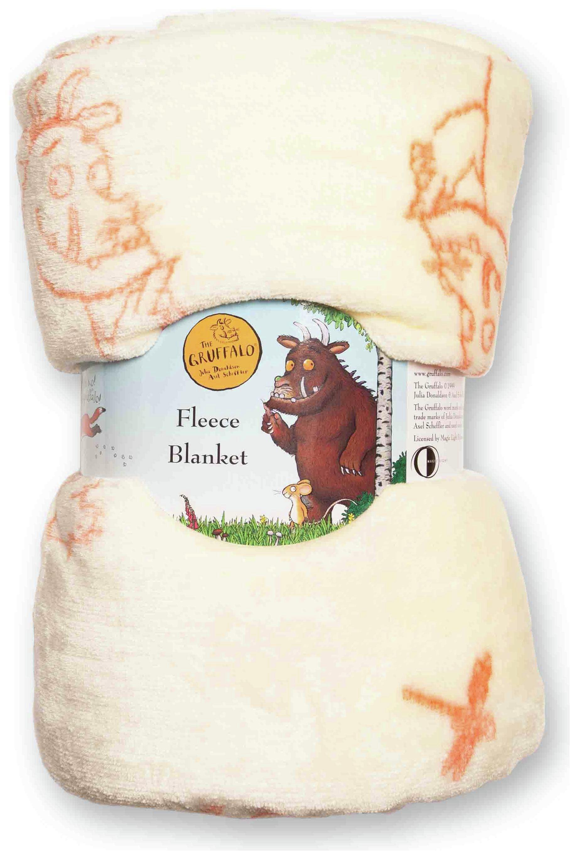 The Gruffalo Fleece Blanket.