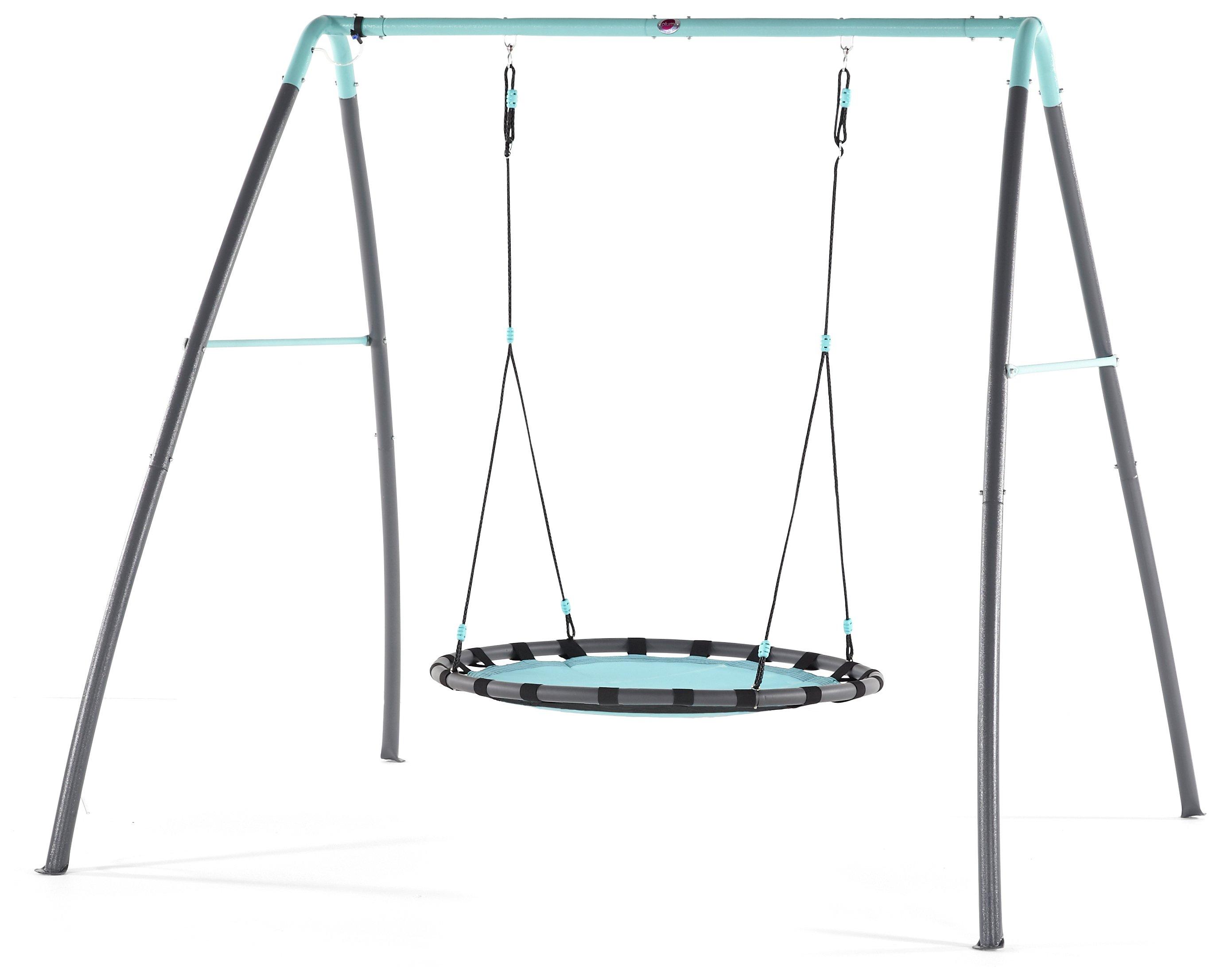 Plum Premium Metal Nest Swing With Mist.