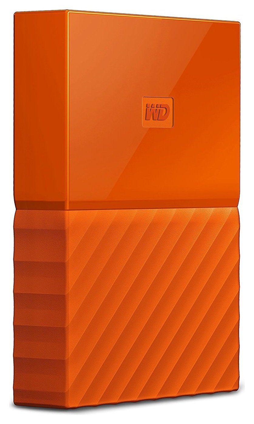 WD 4TB My Passport Orange